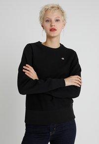 Champion Reverse Weave - CREWNECK - Sweatshirts - black - 0