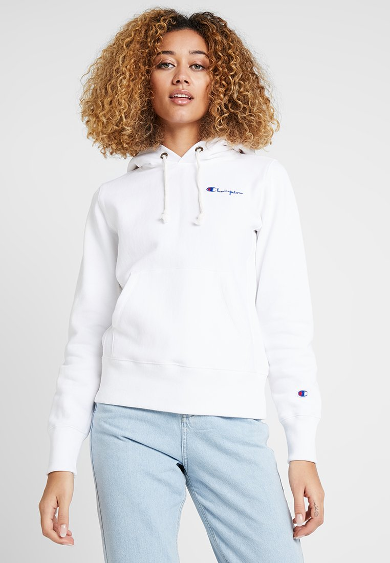 Champion Reverse Weave - HOODED - Luvtröja - white