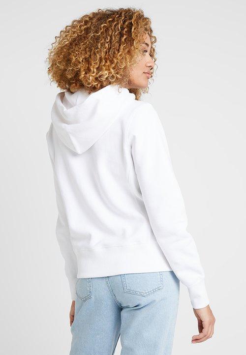 80% ZNIŻKI Champion Reverse Weave HOODED - Bluza z kapturem - white Odzież Damska OXKN-AR3