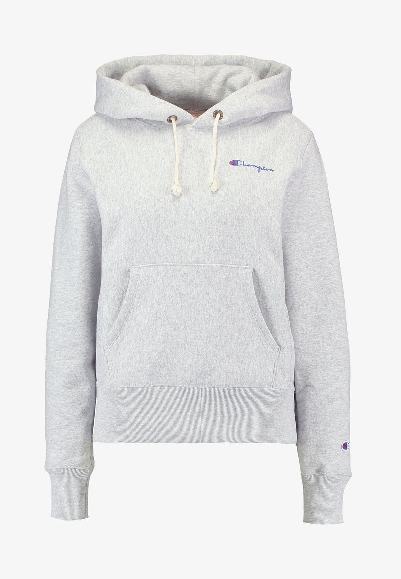 Champion Reverse Weave HOODED CROP Sweat à capuche black