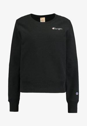 SMALL SCRIPT CREWNECK - Sweatshirt - black