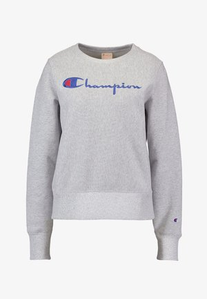 BIG SCRIPT CREWNECK - Sweatshirt - mottled grey