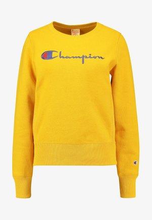 BIG SCRIPT CREWNECK - Sweatshirt - mustard yellow