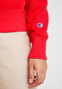 Champion Reverse Weave - BIG SCRIPT CREWNECK - Sweatshirt - red - 4