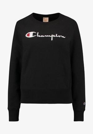 BIG SCRIPT CREWNECK - Sweatshirt - black