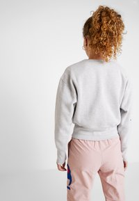 Champion Reverse Weave - BIG SLEEVE SCRIPT CREWNECK CROPPED - Sweatshirt - grey - 2