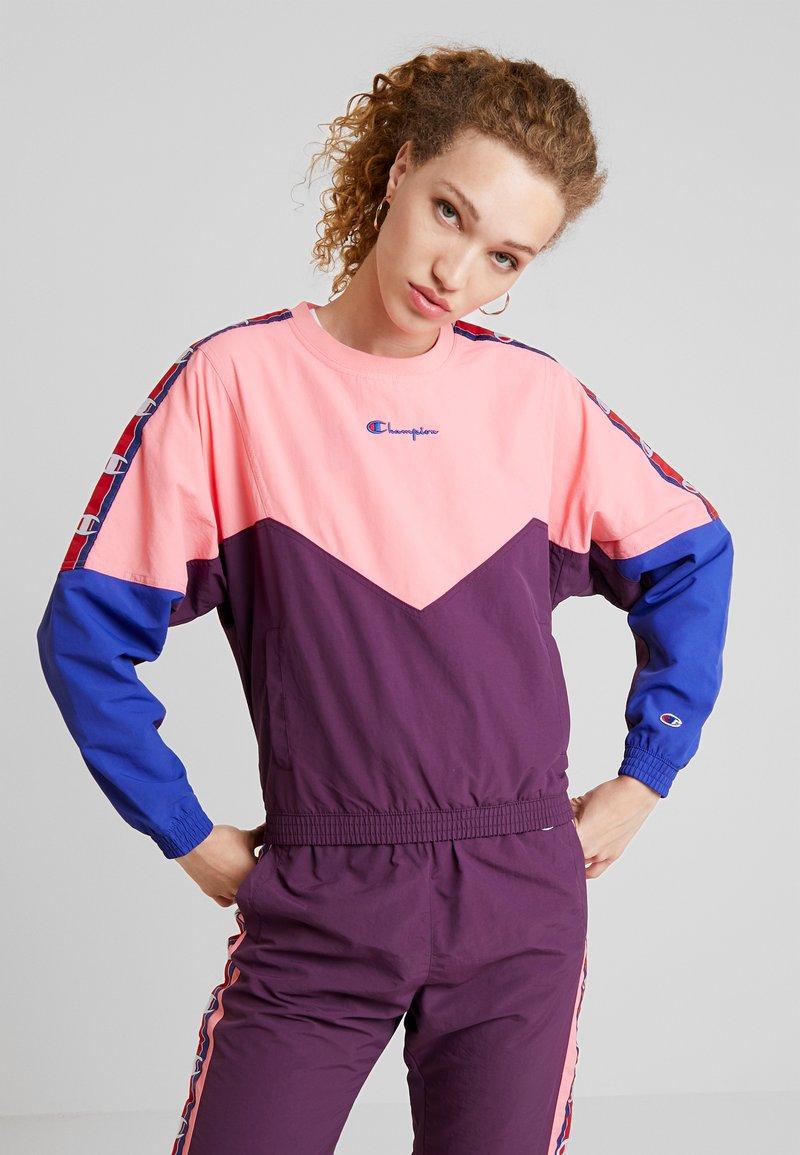 Champion Reverse Weave - CREWNECK - Blouse - light pink
