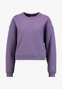 Champion Reverse Weave - SLEEVE LOGO CREW NECK - Sweater - lilac - 4
