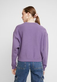 Champion Reverse Weave - SLEEVE LOGO CREW NECK - Sweater - lilac - 2