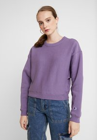 Champion Reverse Weave - SLEEVE LOGO CREW NECK - Sweater - lilac - 0