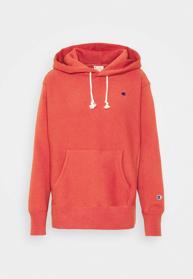HOODED - Hoodie - orange