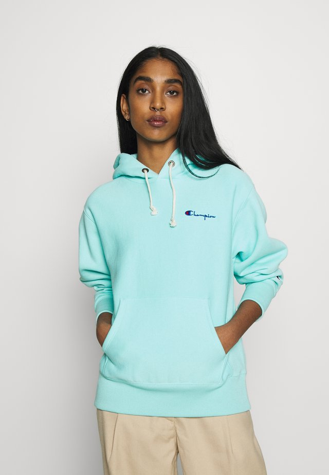HOODED - Mikina skapucí - turquoise