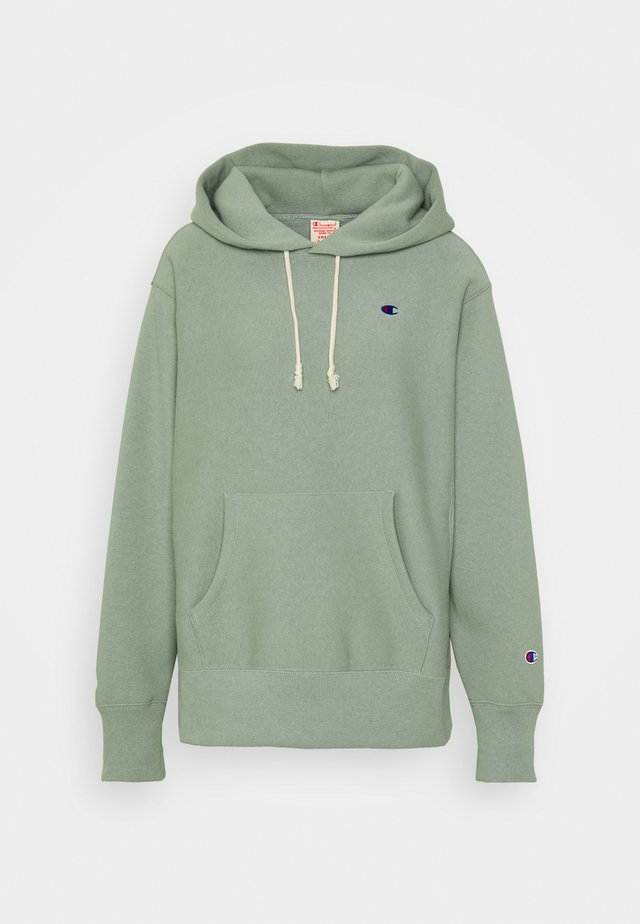 HOODED - Bluza z kapturem - green