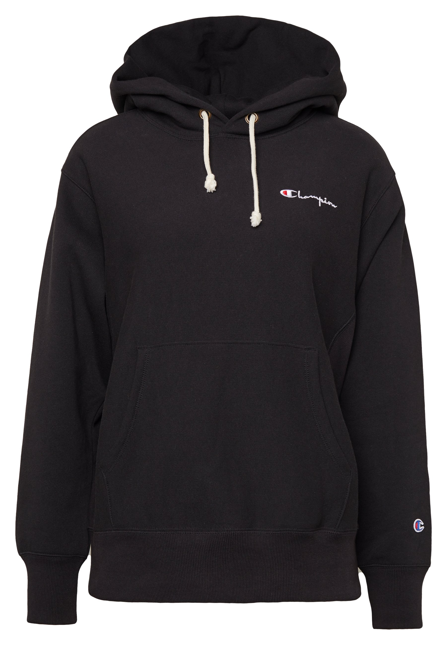 Champion Reverse Weave HOODED - Felpa con cappuccio - black
