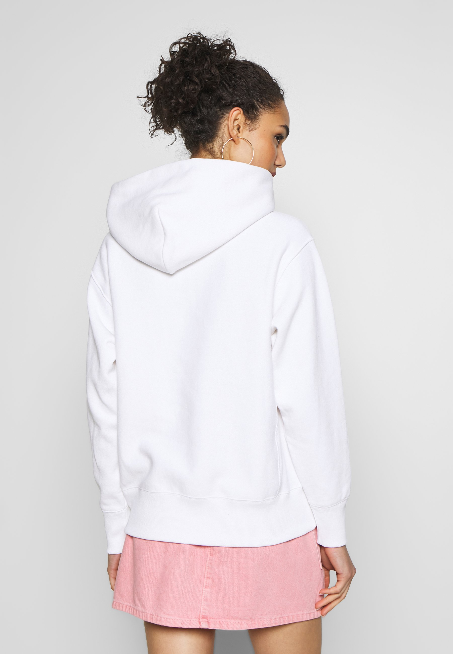 Champion Reverse Weave HOODED  - Hoodie - white