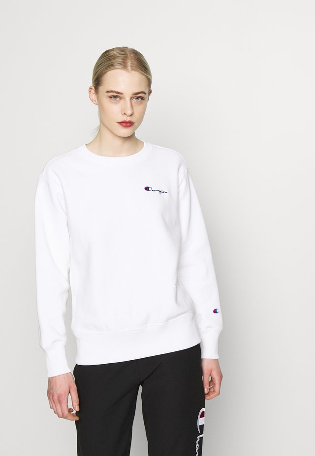 CREWNECK - Collegepaita - white