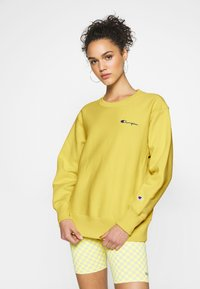 Champion Reverse Weave - CREWNECK - Sweatshirt - mustard yellow - 0