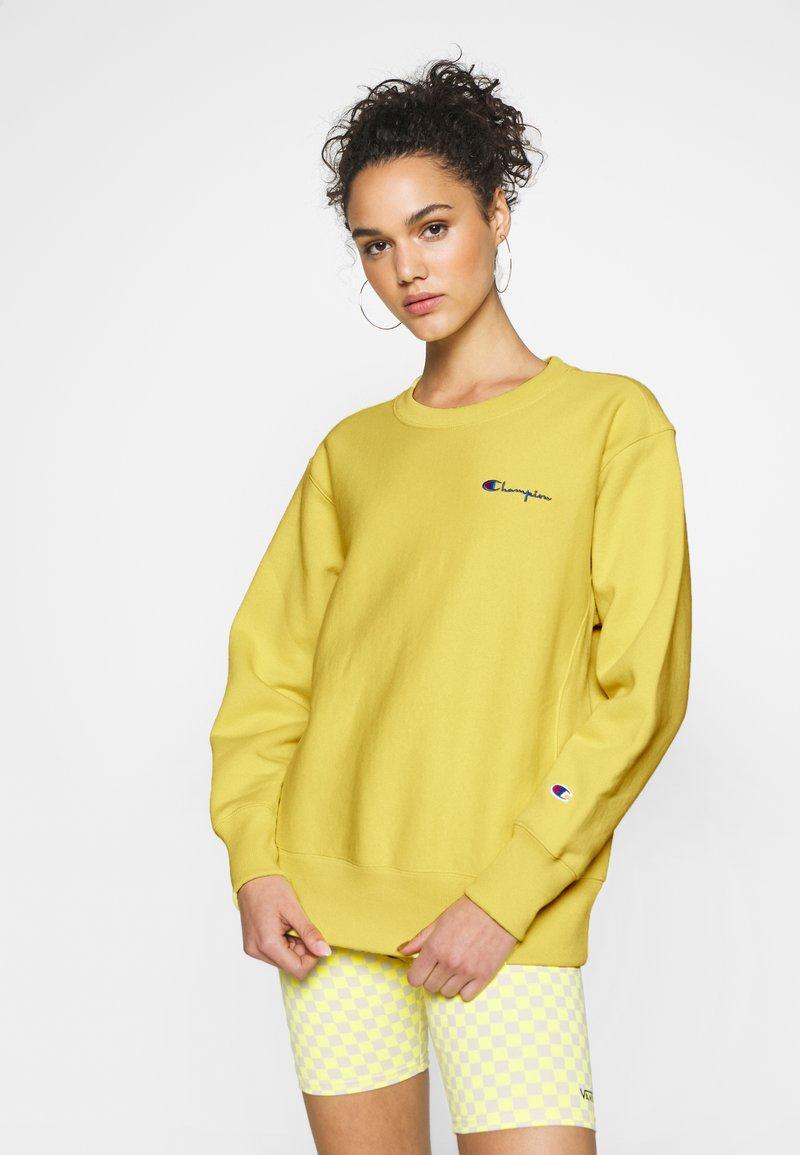 Champion Reverse Weave - CREWNECK - Sweatshirt - mustard yellow