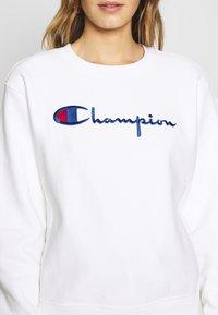 Champion Reverse Weave - CREWNECK - Sweatshirt - white - 5