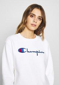 Champion Reverse Weave - CREWNECK - Sweatshirt - white - 3