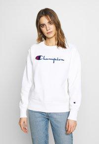 Champion Reverse Weave - CREWNECK - Sweatshirt - white - 0