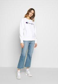 Champion Reverse Weave - CREWNECK - Sweatshirt - white - 1