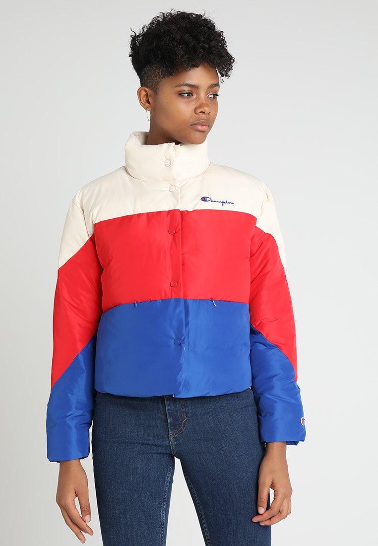 Champion Reverse Weave - JACKET - Winter jacket - red/blue