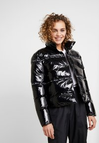 Champion Reverse Weave - PUFF JACKET - Vinterjakke - black - 0