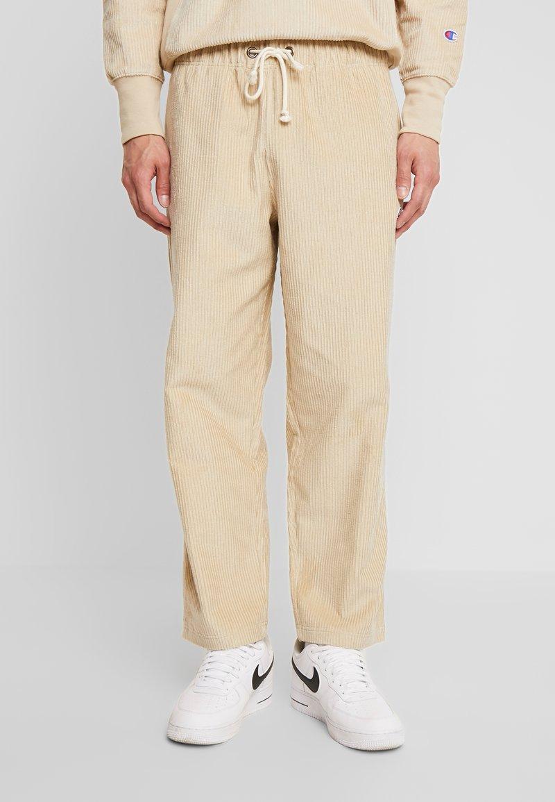 Champion Reverse Weave - STRAIGHT HEM PANTS - Stoffhose - beige