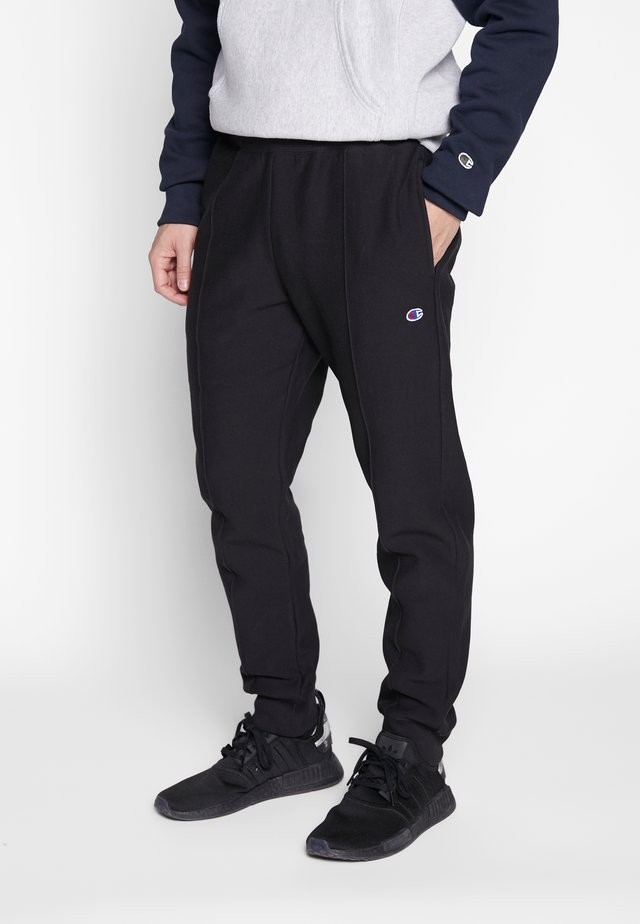 RIB CUFF PANTS - Tracksuit bottoms - nbk