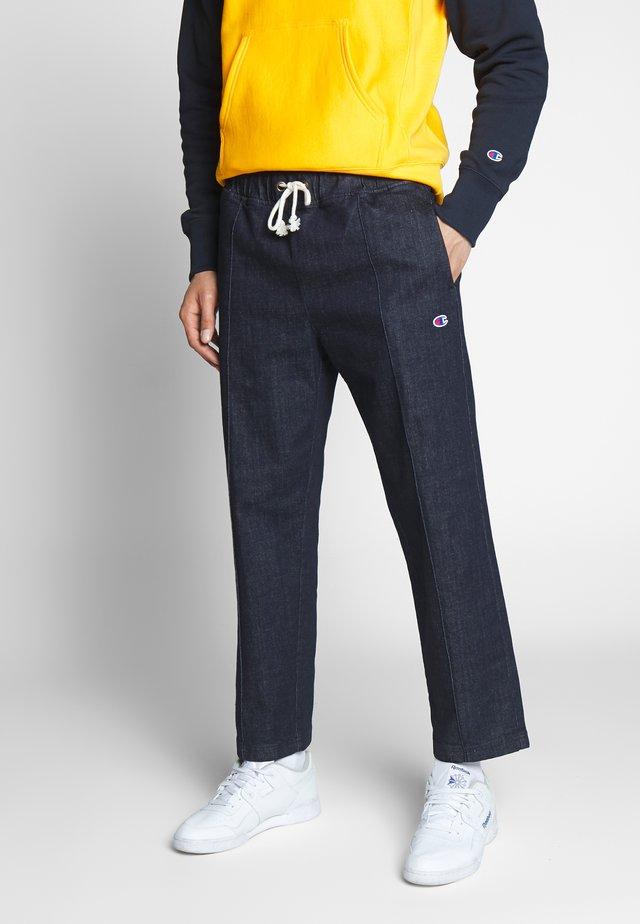 ELASTIC DENIM CUFF PANTS  - Jeans baggy - denim/dark