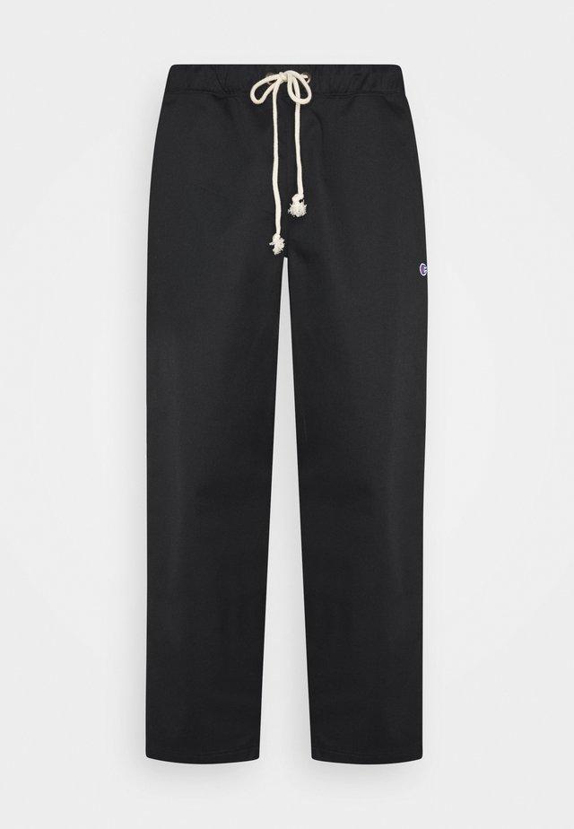 STRAIGHT HEM PANTS - Pantalon classique - black