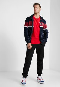 Champion Reverse Weave - CLASSIC APPLIQUE TEE - T-shirt basic - red - 1