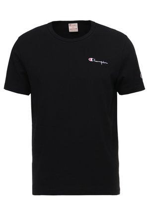 CLASSIC APPLIQUE TEE - T-shirt basic - black
