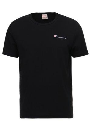 CLASSIC APPLIQUE TEE - T-shirt - bas - black