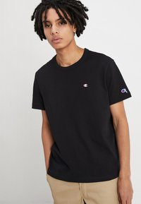 Champion Reverse Weave - BACKPRINT - Triko s potiskem - black - 2