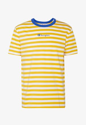 STRIPE EXCLUSIVE - T-shirt med print - yellow