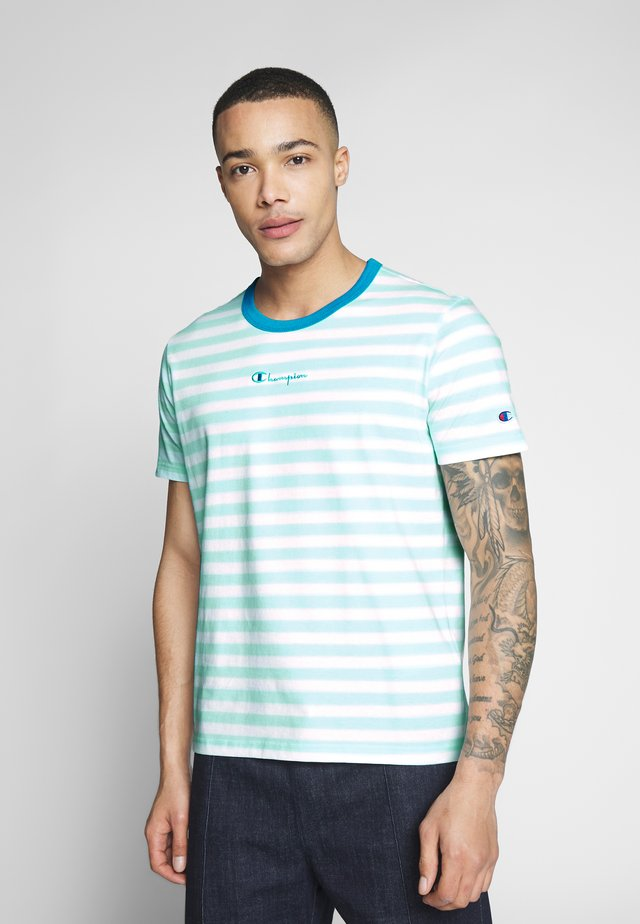 STRIPE EXCLUSIVE - T-shirt con stampa - mint