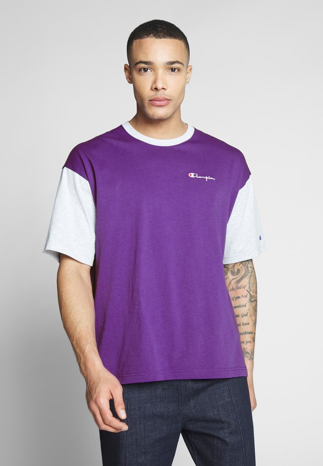 CREWNECK - T-Shirt print - purple