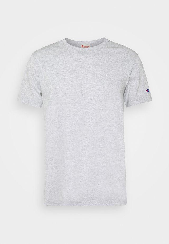 CREWNECK - Basic T-shirt - mottled light grey