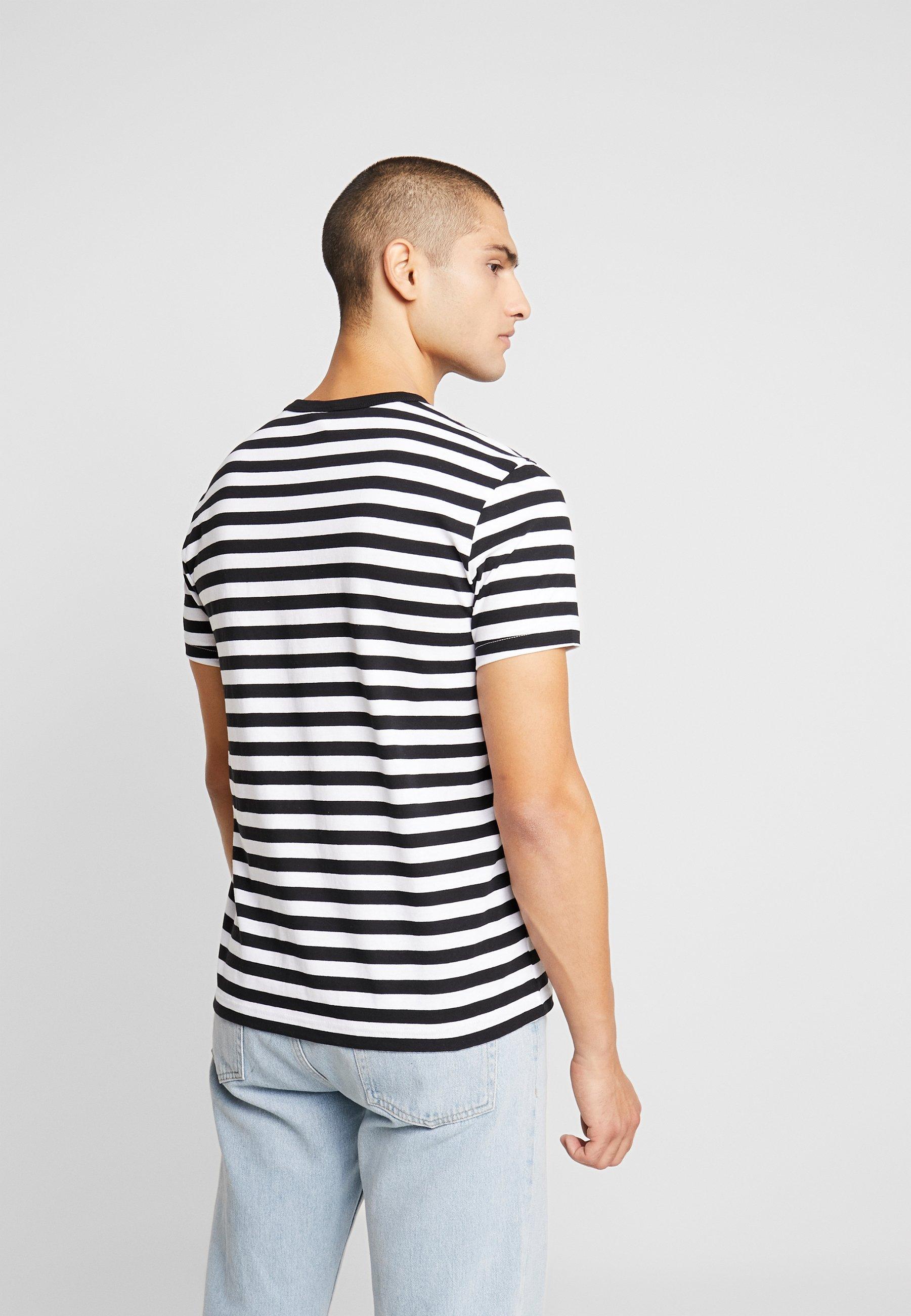 white Stampa Black Weave Logo shirt Reverse Champion StripedT Small Con nwPNO8Xk0Z