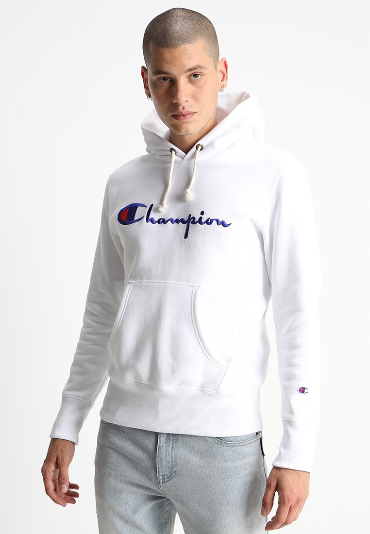 Champion Reverse Weave - HOODED - Kapuzenpullover - white