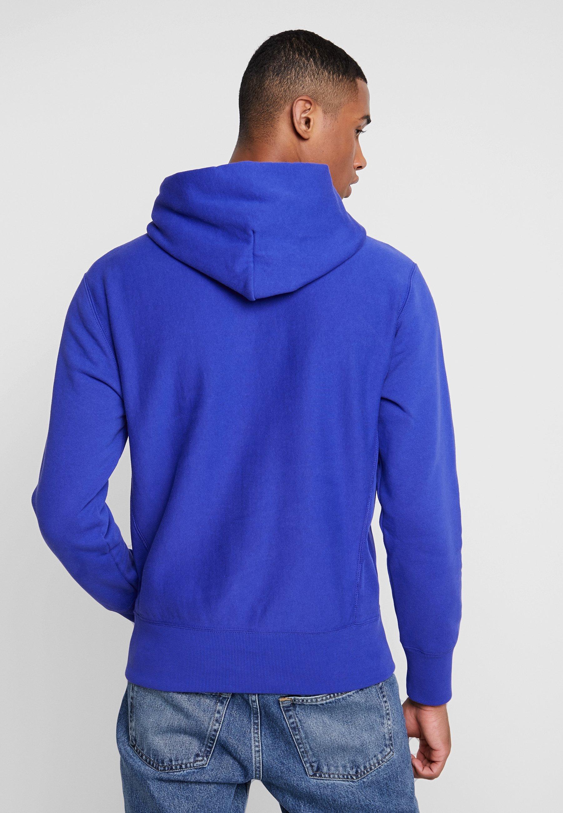 Champion Reverse Weave HOODED - Kapuzenpullover blue