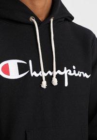 Champion Reverse Weave - HOODED - Hoodie - black - 3