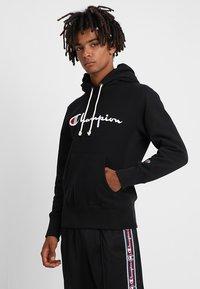 Champion Reverse Weave - HOODED - Hoodie - black - 0