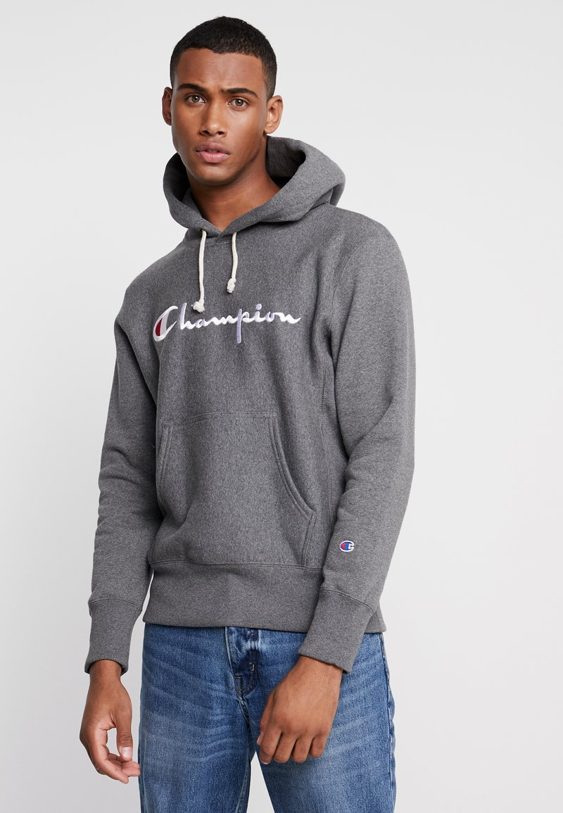 Champion Reverse Weave - HOODED - Kapuzenpullover - grey
