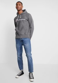 Champion Reverse Weave - HOODED - Huppari - grey - 1