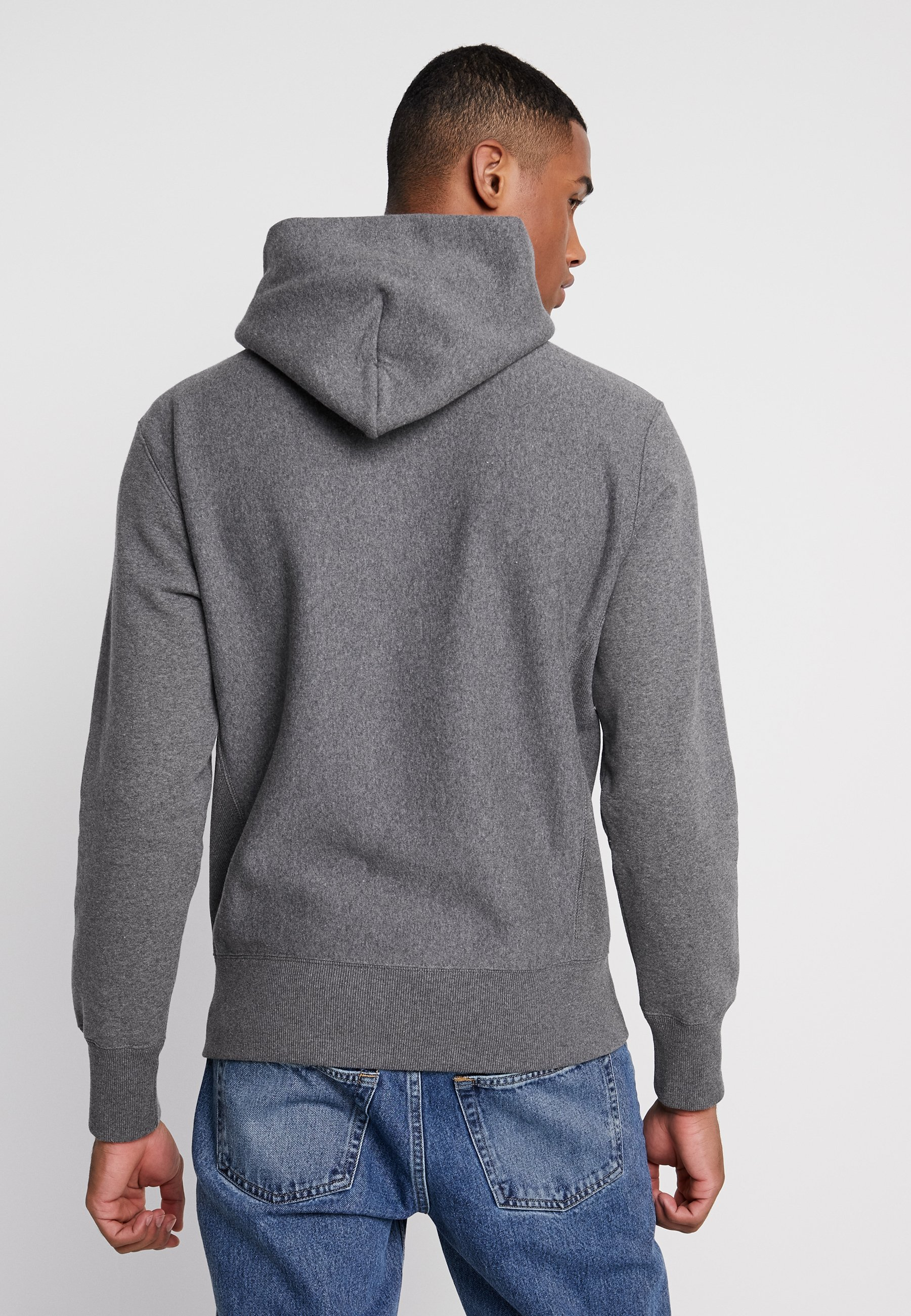 À Capuche Weave Reverse Champion HoodedSweat Grey eD29WEHIY