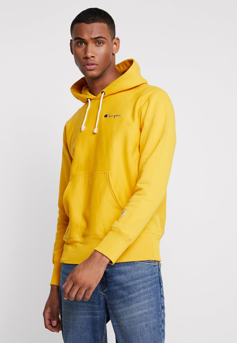 Champion Reverse Weave - WEAVE BRUSHED - Hættetrøjer - yellow