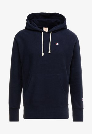 HOODED - Hoodie - dark blue